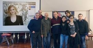 Gli studenti del CCC di I Livello, Pescara 2012.