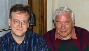 Io e Dan Margulis nel maggio 2008.