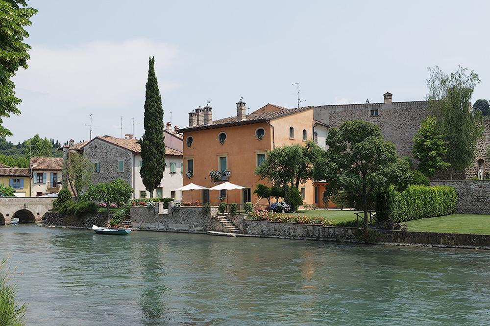 Borghetto sul Mincio, altra prospettiva (originale).