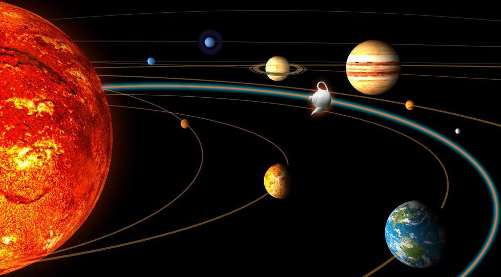 Plug-in Alert! Teiera Volante non Identificata in orbita tra Terra e Marte.
