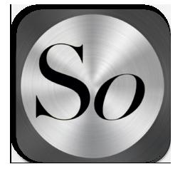 """L'icona dell'App di """"So""""."""
