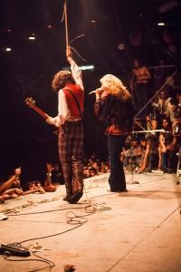 I Led Zeppelin a Milano nel 1971. © 1971 Armando Gallo.